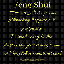 feng shui dining room chinese feng shui dining