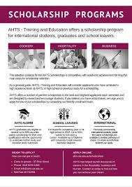 blog adelaide hospitality and tourism school new scholarship programs