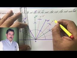 Constructing an <b>Angle</b> of <b>90 degrees</b> - YouTube