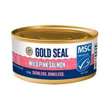<b>Canned</b> Wild <b>Pink Salmon</b> - <b>Skinless</b> Boneless | Gold Seal Seafood