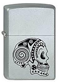 <b>Зажигалка ZIPPO 205 Tattoo Skull</b> купить оптом в Москве