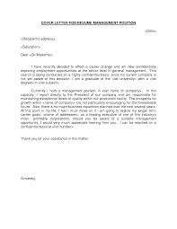 cover letter for manager position cover letter database cover letter for manager position