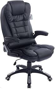 Cherry Tree Furniture <b>Executive Recline</b> Extra Padded <b>Office Chair</b> ...