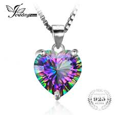 2019 Wholesale JewelryPalace <b>4ct Genuine Rainbow Fire</b> Mystic ...