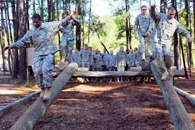 u s department of defense photo essay u s army infantry recruits tackle the confidence course on their fifth day of one station unit