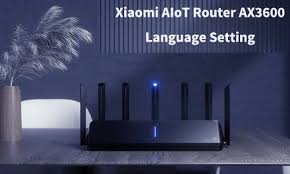 How to Select the English as <b>Xiaomi AIoT Router</b> AX3600 System ...