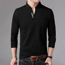 HOT SELL <b>2019 New Fashion Brand</b> Men Clothes Solid Color Long ...
