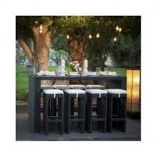 wicker bar height dining table: wicker bar height patio dining set seats