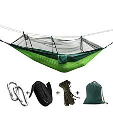 BlueStraw Camping Hammock with Mosquito Net Outdoor <b>Double</b> ...