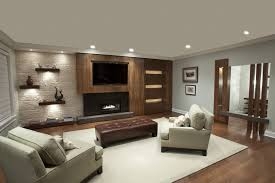 awesome white brown wood glass modern design wallmount tv under fireplace wood floor white clubchairs white awesome white brown wood
