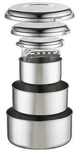 <b>Набор посуды ALPINE</b> 4 POT SET <b>MSR</b> Z22775 — купить в ...