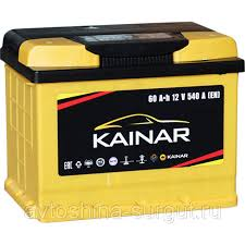 "Купить Аккумулятор <b>Kainar АКБ</b> ""<b>KAINAR</b>"" <b>6ст</b> (60 Ач п/п) в ..."