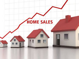 PENDING HOME SALES UP 10%