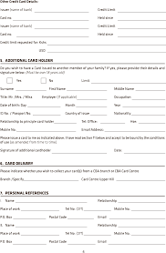 auto loan credit application form template example good resume auto loan credit application form template credit application template business form template credit card application