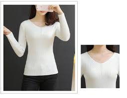Elasticity Soft Women <b>Sweater Autumn Pullovers Knitted Sweaters</b> ...