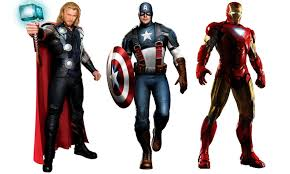 Image result for thor ironman captain america