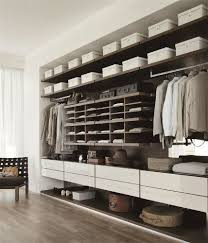 modern bedroom concepts: walk in closets are one of the most practical divisions in the modern bedroom design