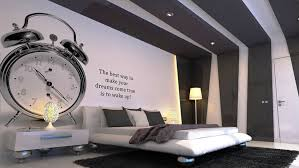 ideas large size endearing bedroom wall decoration ideas with patterns captivating decorating unique silver alarm bedroom furniture interior fascinating wall