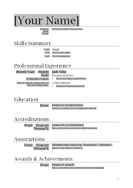sample professional resume templates   professional resume templates free download