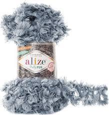 <b>Пряжа Alize Puffy Fur</b>, 7728472_6107, 100 г, 6 м, 5 шт — купить в ...