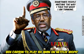 Image result for ben carson murderous cartoons