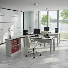 colorful captivating shaped white home office furniture