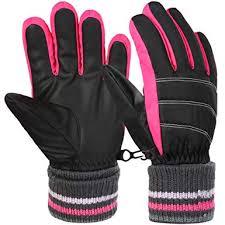 VBIGER <b>Kids</b> Gloves <b>Winter Outdoor</b> Sports <b>Ski</b> Gloves,Aged 6-12 ...