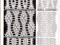 4084 лучших изображения доски «Узоры» за 2019 | Crochet ...
