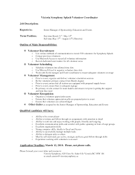 volunteer resume sample experience resumes volunteer resume sample intended for keyword