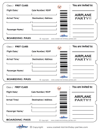 airline ticket invitation template tickets airline ticket invitation template