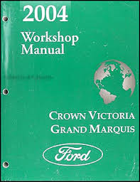 2004 crown victoria grand marquis original wiring diagram manual 2004 crown victoria grand marquis marauder repair shop manual original 119 00