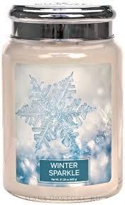<b>Ароматическая свеча</b> - Village Candle <b>Winter</b> Sparkle:купить с ...