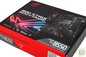 Обзор <b>материнской платы ASUS ROG</b> STRIX B550-E Gaming