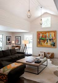 awesome floor lamp living room contemporary remodeling ideas with cow hide rug ceiling light awesome family room lighting