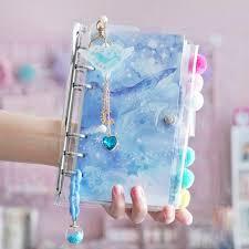 <b>Kawaii</b> Unicorn <b>Planner Notebook Ocean</b> Cherry A6 Spiral ...