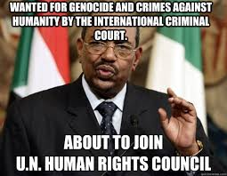 Omar al-Bashir UN United Nations memes | quickmeme via Relatably.com