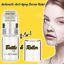 <b>Automatic</b> Anti Aging <b>Derma Roller Dermaroller</b> 0.25mm Titanium ...