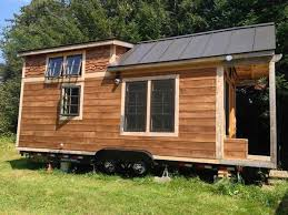 Man Designs and Builds his Own Mortgage   Tiny HouseEthan    s Debt   DIY Tiny House on Wheels