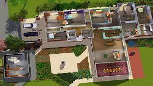 Sims House Plans Sims Modern House Plans  cool house layouts