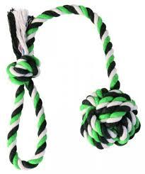 <b>Trixie</b> игрушка <b>Веревка</b> с узлом DentaFun для собак в интернет ...