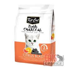 <b>Kit Cat</b>® <b>Zeolite</b> Charcoal - Citrus Blast Cat Litter 4kg — Cats ...
