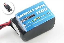 <b>Аккумулятор Team Orion</b> Batteries 6.6V 1100mAh 30C LiFe ...