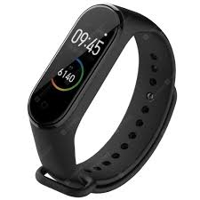 <b>TAMISTER</b> Replacement Strap for Xiaomi Mi Band 3 / 4 Black Smart ...