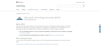 top 25 cloud computing certificate programs docurated the microsoft technology associate mta certification provides an alternate entry point for candidates who don t yet have the prerequisite knowledge to