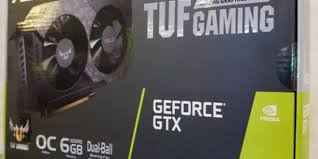 Обзор <b>видеокарты ASUS TUF</b> Gaming <b>GeForce GTX</b> 1660 OC ...