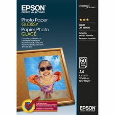42539 Глянцевая <b>фотобумага EPSON Photo Paper</b> Glossy A4 (50 ...
