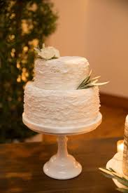 Simple and <b>elegant ruched</b> white wedding cake || Cake: Amy Beck ...