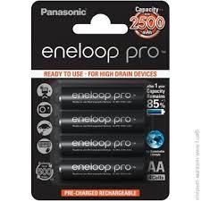 <b>Аккумулятор PANASONIC</b> Eneloop Pro <b>AA</b> 2500мАч, 4шт. (BK ...
