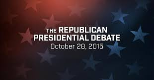 Image result for the republican presidential debate october 28