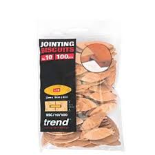 <b>Trend No</b>. <b>10</b> Jointing Biscuits 100 Pack | Biscuit Jointing | Screwfix.ie